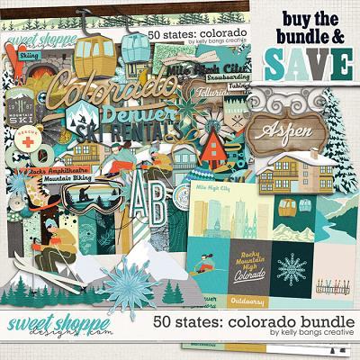 50 States: Colorado Bundle by Kelly Bangs Creative