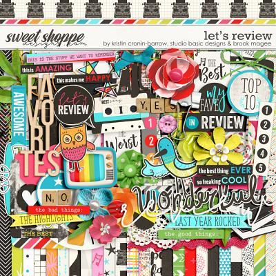 Let's Review by Kristin Cronin-Barrow, Studio Basic Designs & Brook Magee