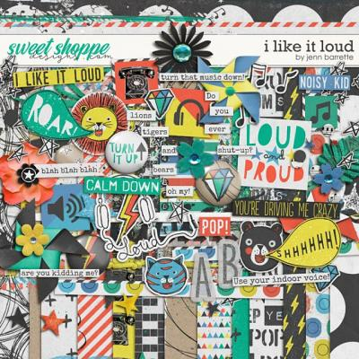 I Like It Loud by Jenn Barrette