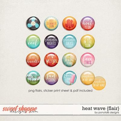 Heat Wave Flair by Ponytails