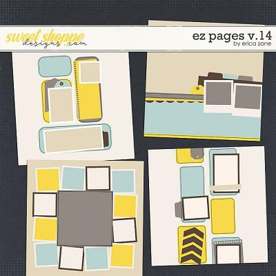 EZ Pages v.14 Templates by Erica Zane