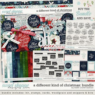 A different kind of Christmas: Bundle by Kristin Cronin-Barrow