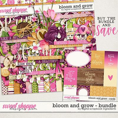 Bloom And Grow Bundle by Digital Scrapbook Ingredients