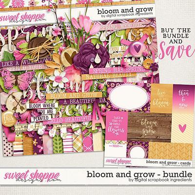 Bloom And Grow Bundle by Digital Scrapbook Ingredients