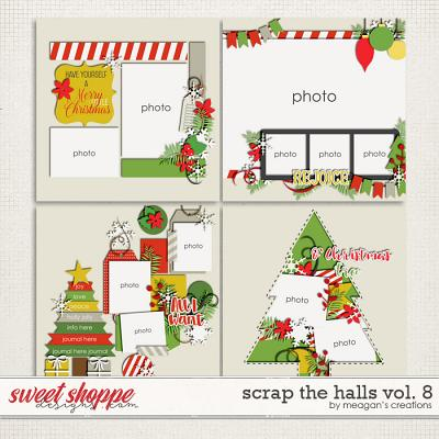 Scrap the Halls Vol. 8 by Meagan's Creations