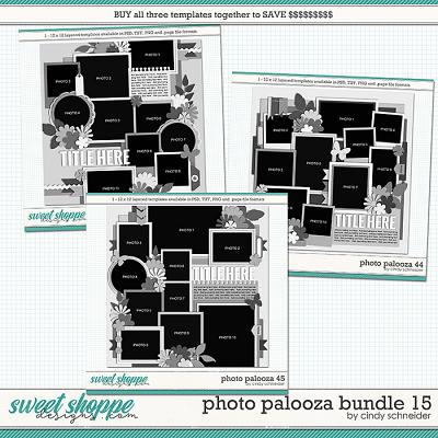 Cindy's Layered Templates - Photo Palooza Bundle 15 by Cindy Schneider