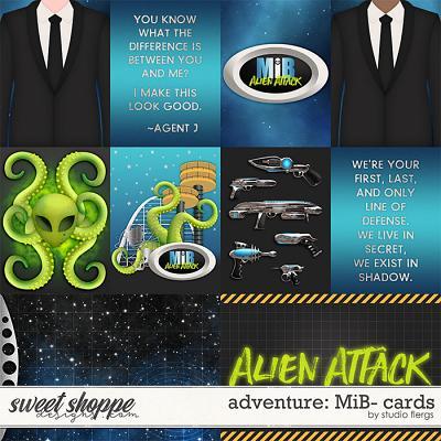 Adventure: MiB- CARDS by Studio Flergs