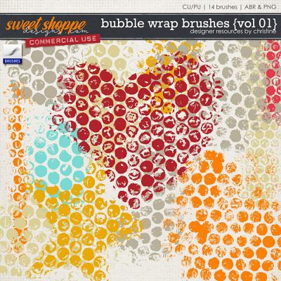 Bubble Wrap Brushes {Vol 01} by Christine Mortimer
