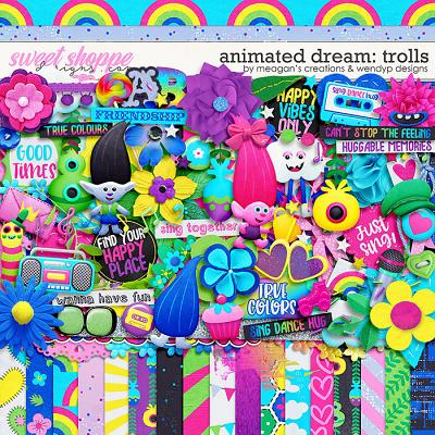 Animated Dream: Trolls by Meagan's Creations and WendyP Designs