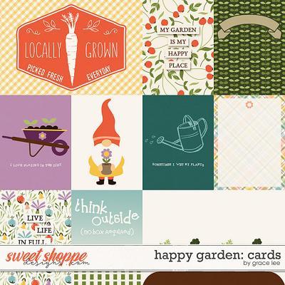 Happy Garden: Cards by Grace Lee