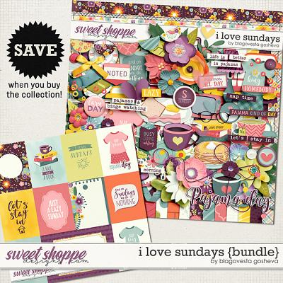 I Love Sundays {bundle} by Blagovesta Gosheva