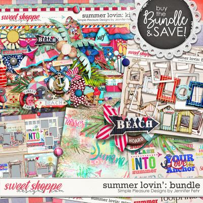 Summer Lovin Bundle: Simple Pleasure Designs by Jennifer Fehr