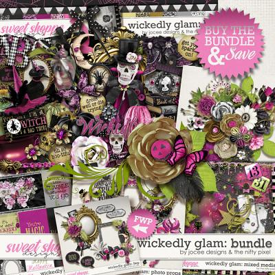 Wickedly Glam Bundle With FWP by JoCee Designs and The Nifty Pixel