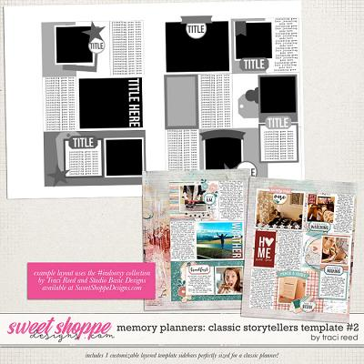 Memory Planners - Classic - Squared #1 by Traci Reed