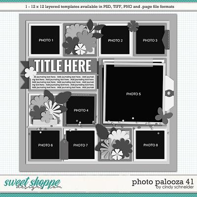 Cindy's Layered Templates - Photo Palooza 41 by Cindy Schneider