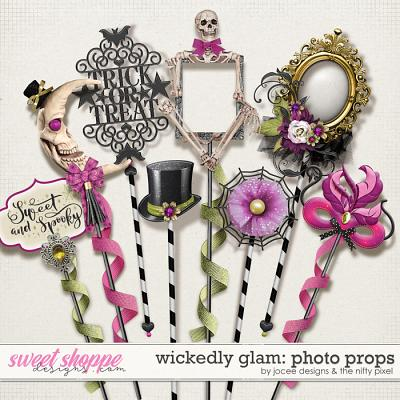 Wickedly Glam Photo Props by JoCee Designs and The Nifty Pixel
