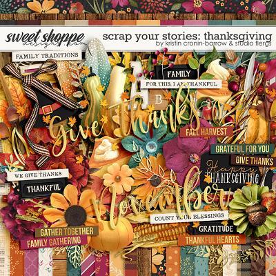 Scrap Your Stories: Thanksgiving by Studio Flergs & Kristin Cronin-Barrow
