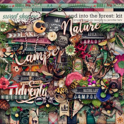 and into the forest kit: simple pleasure designs by jennifer fehr