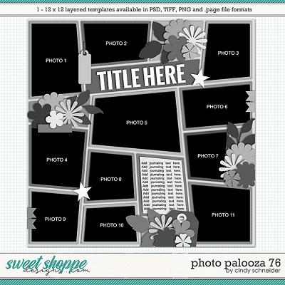 Cindy's Layered Templates - Photo Palooza 76 by Cindy Schneider