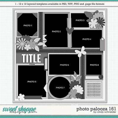 Cindy's Layered Templates - Photo Palooza 161 by Cindy Schneider