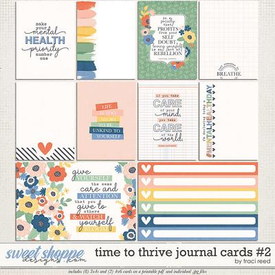 Time to Thrive Journal Cards #2 by Traci Reed