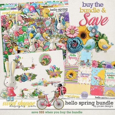 Hello Spring Bundle by JoCee Designs