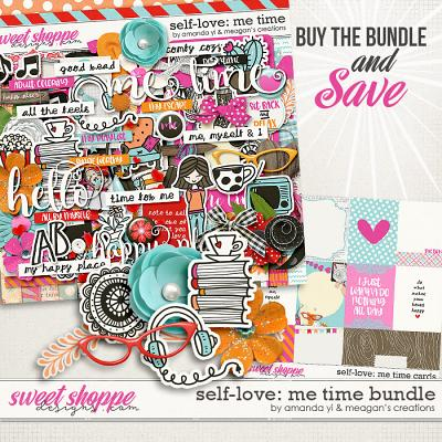 Self-Love: Me Time Bundle by Amanda Yi & Meagan's Creations