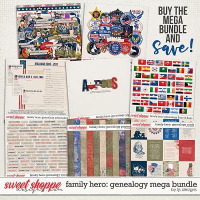 Family Hero: Genealogy Mega Bundle by LJS Designs