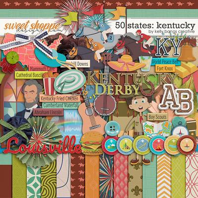 50 States: Kentucky by Kelly Bangs Creative