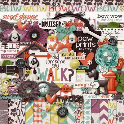 Bow Wow {Kit} by Digilicious Design