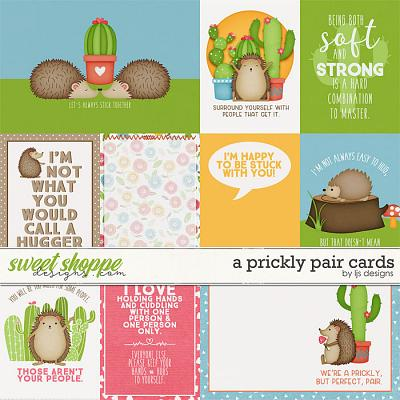 A Prickly Pair Cards by LJS Designs