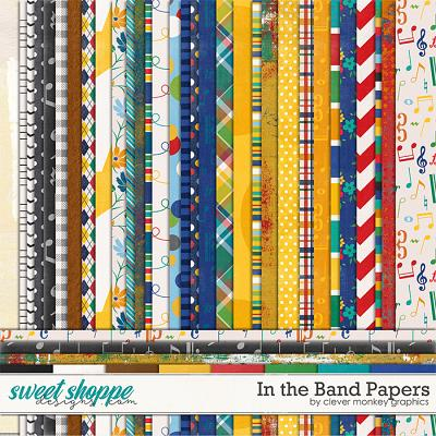 In the Band Papers by Clever Monkey Graphics