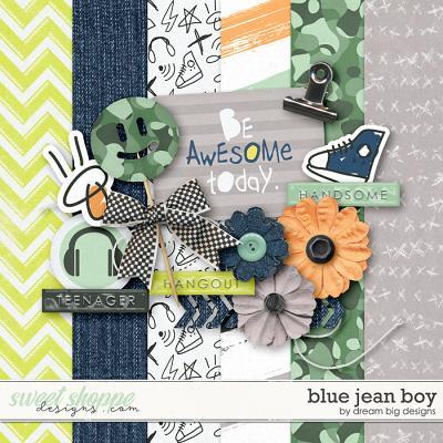 Blue Jean Boy by Dream Big Designs