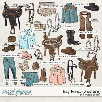 Hay Fever Western Add-On by Ponytails