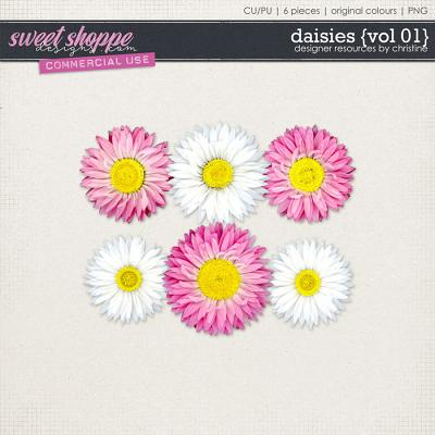 Daisies {Vol 01} by Christine Mortimer