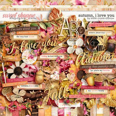 Autumn I love you by Kristin Cronin-Barrow