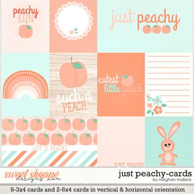 Just Peachy-Cards by Meghan Mullens