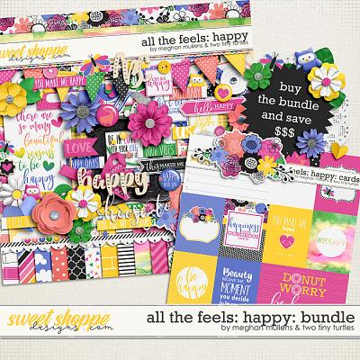 All The Feels: Happy-Bundle by Two Tiny Turlles & Meghan Mullens