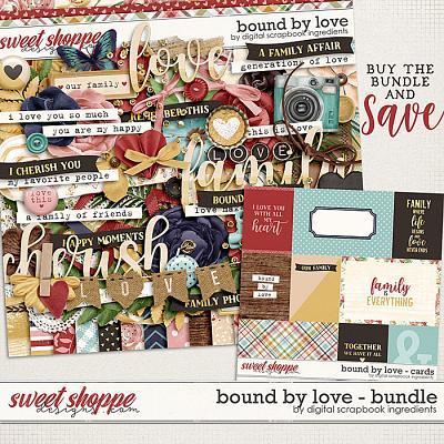 Bound By Love Bundle by Digital Scrapbook Ingredients