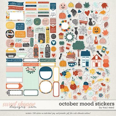 October Mood Stickers by Traci Reed