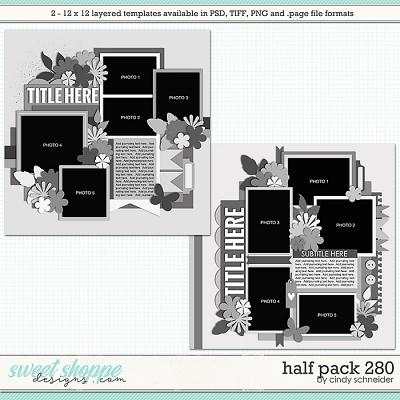 Cindy's Layered Templates - Half Pack 280 by Cindy Schneider