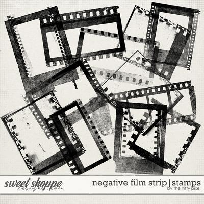 NEGATIVE FILM STRIP | STAMPS by The Nifty Pixel