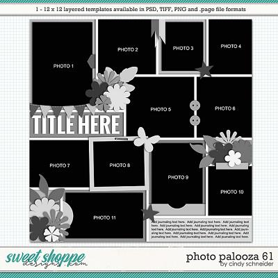 Cindy's Layered Templates - Photo Palooza 61 by Cindy Schneider