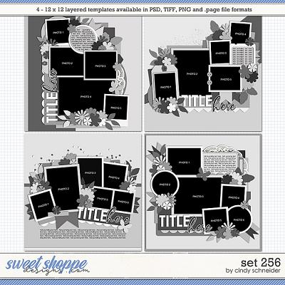 Cindy's Layered Templates - Set 256 by Cindy Schneider