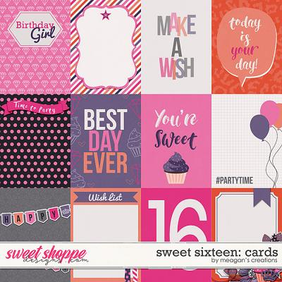 Sweet Sixteen: Cards by Meagan's Creations