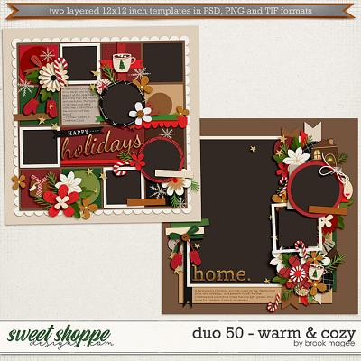 Brook's Templates - Duo 50 - Warm & Cozy by Brook Magee