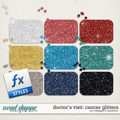 Doctor's Visit: Cancer Glitters by Meagan's Creations