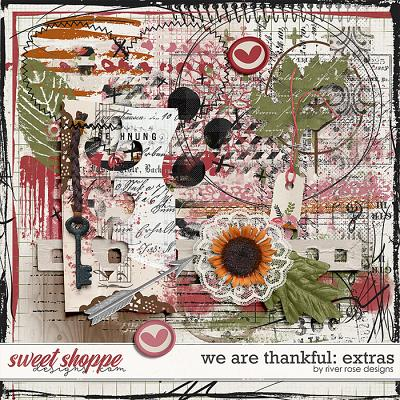We Are Thankful: Extras by River Rose Designs