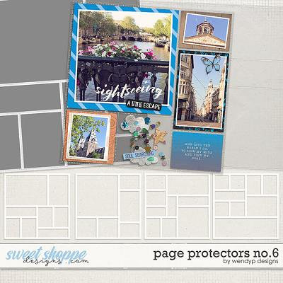Page Protectors No.6 by WendyP Designs