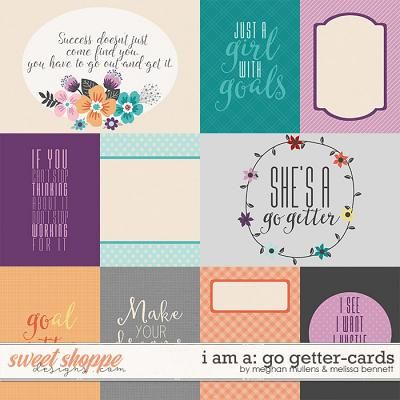 I Am A: Go Getter Card Pack by Melissa Bennett and Meghan Mullens